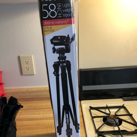Best Buy 24 to 58 in Collapsable Tripod